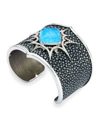 Stephen Webster | Metallic Murder She Wrote Opalescent Quartz Stingray Cuff | Lyst