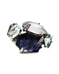 Alexis Bittar - Blue Mystic Marquis Stacked Ring You Might Also Like - Lyst