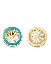 Astley Clarke | Blue Milky Aquamarine Earrings | Lyst