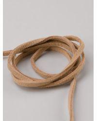 Roni Blanshay | Black Squiggle Snake Necklace | Lyst