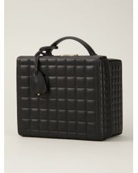 Mark Cross - Black Large 'Grace' Quilted Box Bag - Lyst