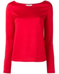 Dorothee Schumacher | Red V-neck Sweater | Lyst