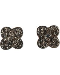 Ileana Makri | Gray Women's Cross Studs | Lyst