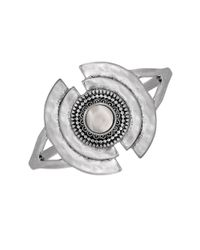 Lucky Brand | Metallic Freshwater Pearl Bracelet | Lyst