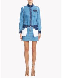 DSquared² - Blue Inside Out Dress - Lyst
