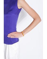Carolina Bucci - Orange Yellow Gold Twister Bracelet - Lyst