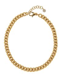 1AR By Unoaerre - Metallic Gold-Plated Necklace - Lyst