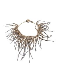 Rosantica | Metallic 'anemone' Necklace | Lyst