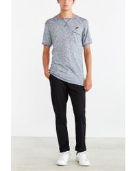 Timberland - Blue Roman Tee for Men - Lyst