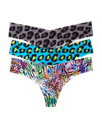 Commando   Multicolor Thong Animal 3 Pack   Lyst