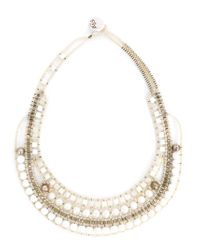 Ziio | Metallic Beaded Necklace | Lyst
