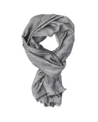Armani Jeans - Black Scarf for Men - Lyst