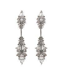 Fernando Jorge - Metallic Diamond, Topaz & Gold Fusion Earrings - Lyst