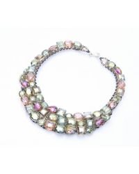 Nakamol | Multicolor Stella Necklace-Green | Lyst