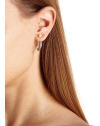 Katie Rowland | Metallic Irina Mini Talon Rose Gold-plated Earrings | Lyst