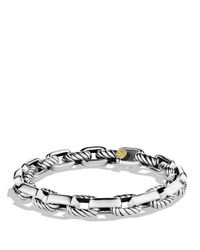 David Yurman | Metallic Empire Link Bracelet With Gold for Men | Lyst