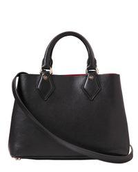 Diane von Furstenberg | Black Small Voyage Leather Tote Bag | Lyst