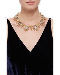 Buccellati | Metallic Baroque Pearl And Diamond Necklace | Lyst