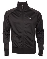 Fly 53 - Black Arcade Plain Zip Collar Track Top for Men - Lyst