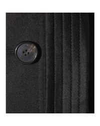Burberry Black Kensington Cashmere Trench Coat
