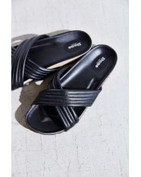 Dune | Black Jolene Puff Slide Sandal | Lyst