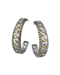 John Hardy | Metallic Naga Large Hoop Earrings | Lyst