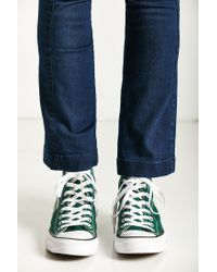 Converse - Green Chuck Taylor All Star Seasonal High Top Sneaker - Lyst