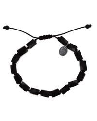 Joseph Brooks | Black Onyx Beaded Bracelet for Men | Lyst
