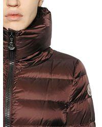 Moncler | Brown Talcy Matte Nylon Down Jacket | Lyst