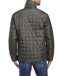Tumi - Green Quilted Jacket for Men - Lyst
