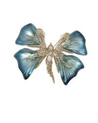 Alexis Bittar | Blue Studded Butterfly Pin | Lyst