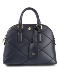 Tory Burch - Blue Robinson Quilted Satchel - Lyst