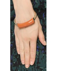 Jason Wu | Lauren Enameled Bracelet - Burnt Orange | Lyst