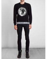 Versus - Black Lion Logo Sweatshirt for Men - Lyst