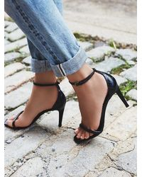 Free People - Black Square Intentions Heel - Lyst