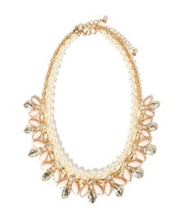 Forever 21 | Natural Faux Pearl Statement Necklace Set | Lyst