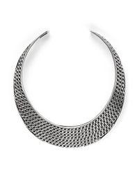 Philippe Audibert - Metallic Suzan Silverplated Necklace - Lyst