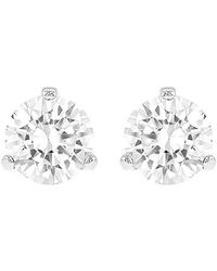Swarovski | Multicolor Solitaire Pierced Earrings | Lyst
