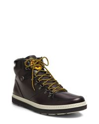 Gucci | Black 'Green Field' Boot for Men | Lyst