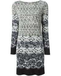 MICHAEL Michael Kors | Multicolor Snakeskin Print Dress | Lyst