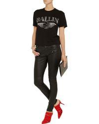 Brian Lichtenberg - Black Basketballin Cotton-jersey T-shirt - Lyst