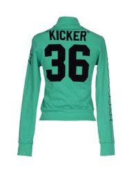 Hydrogen - Green Sweatshirt - Lyst