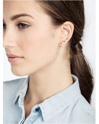 BaubleBar - Metallic Iconography Stud Set-Flamingo - Lyst
