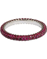 Sidney Garber | Red Women's Ruby Thread Band | Lyst