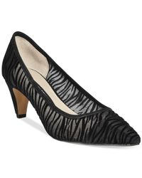 French Connection | Black Kornelia Pumps | Lyst