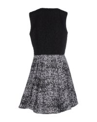 Proenza Schouler - Black Short Dress - Lyst