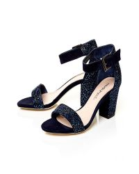 Moda In Pelle - Blue Sophina Medium Occasion Sandals - Lyst