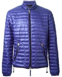 Duvetica - Blue 'Bacco' Padded Jacket for Men - Lyst