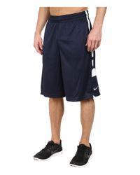 Nike | Blue Elite Stripe Short for Men | Lyst