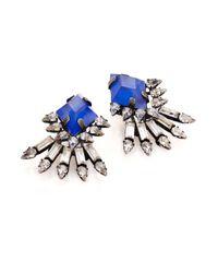 DANNIJO | Metallic Lauder Crystal Earrings | Lyst